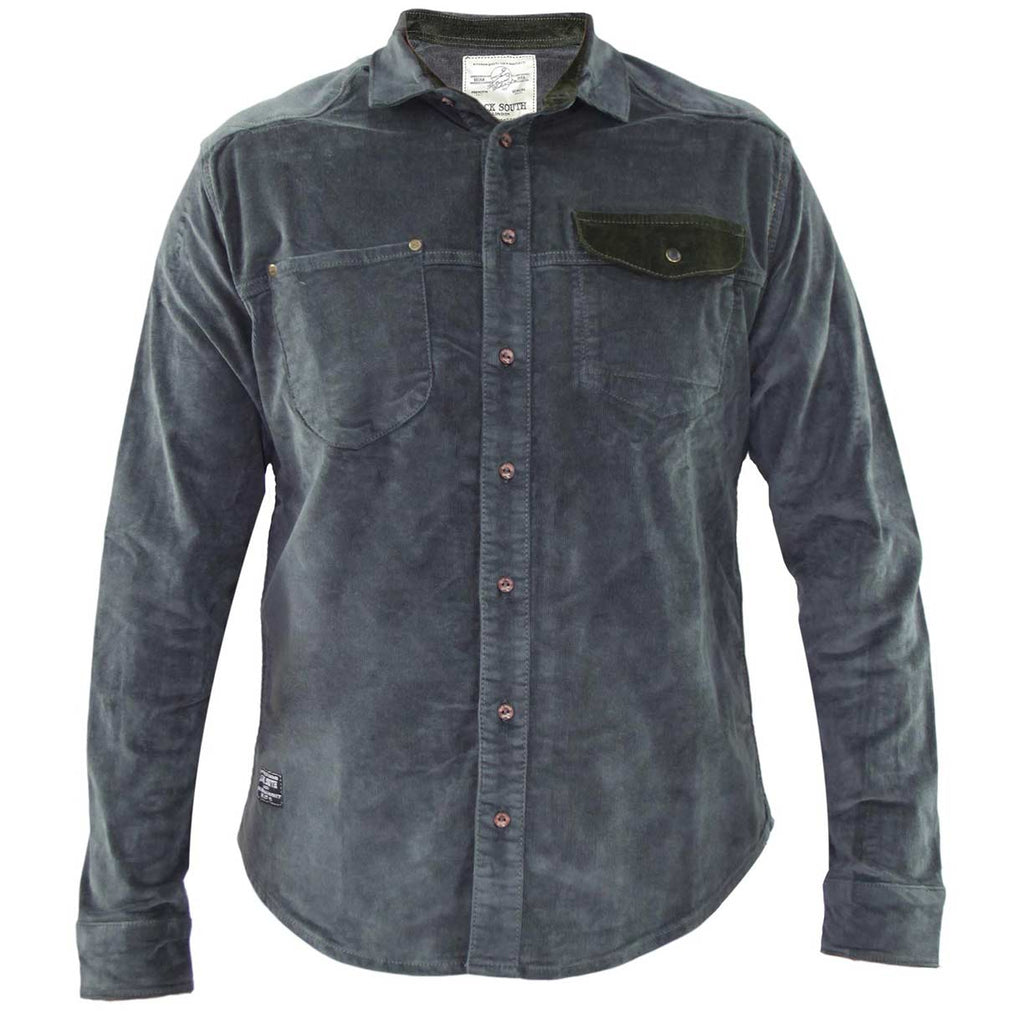 Jack South Men Shirt Gijon Grey