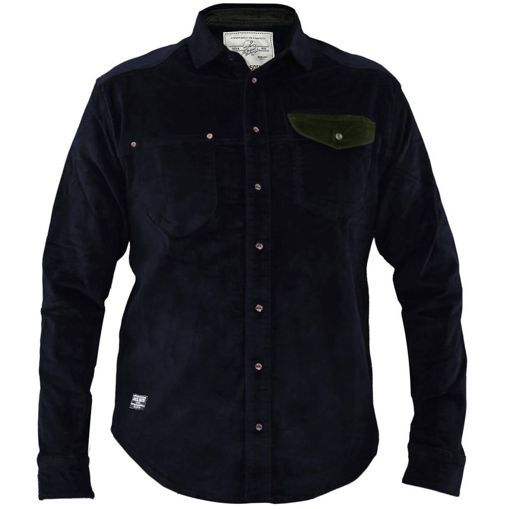 Jack South Men Shirt Gijon Navy