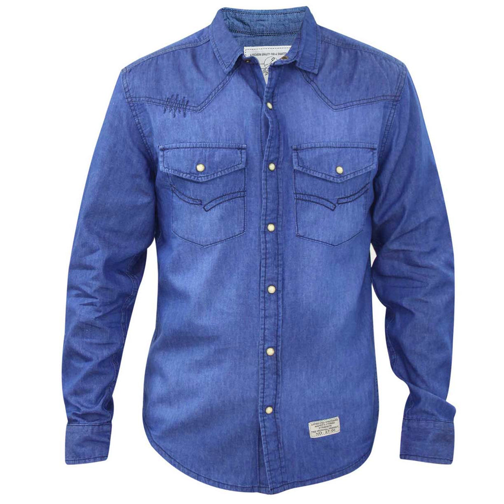 Jack South Shirt Juan Blue