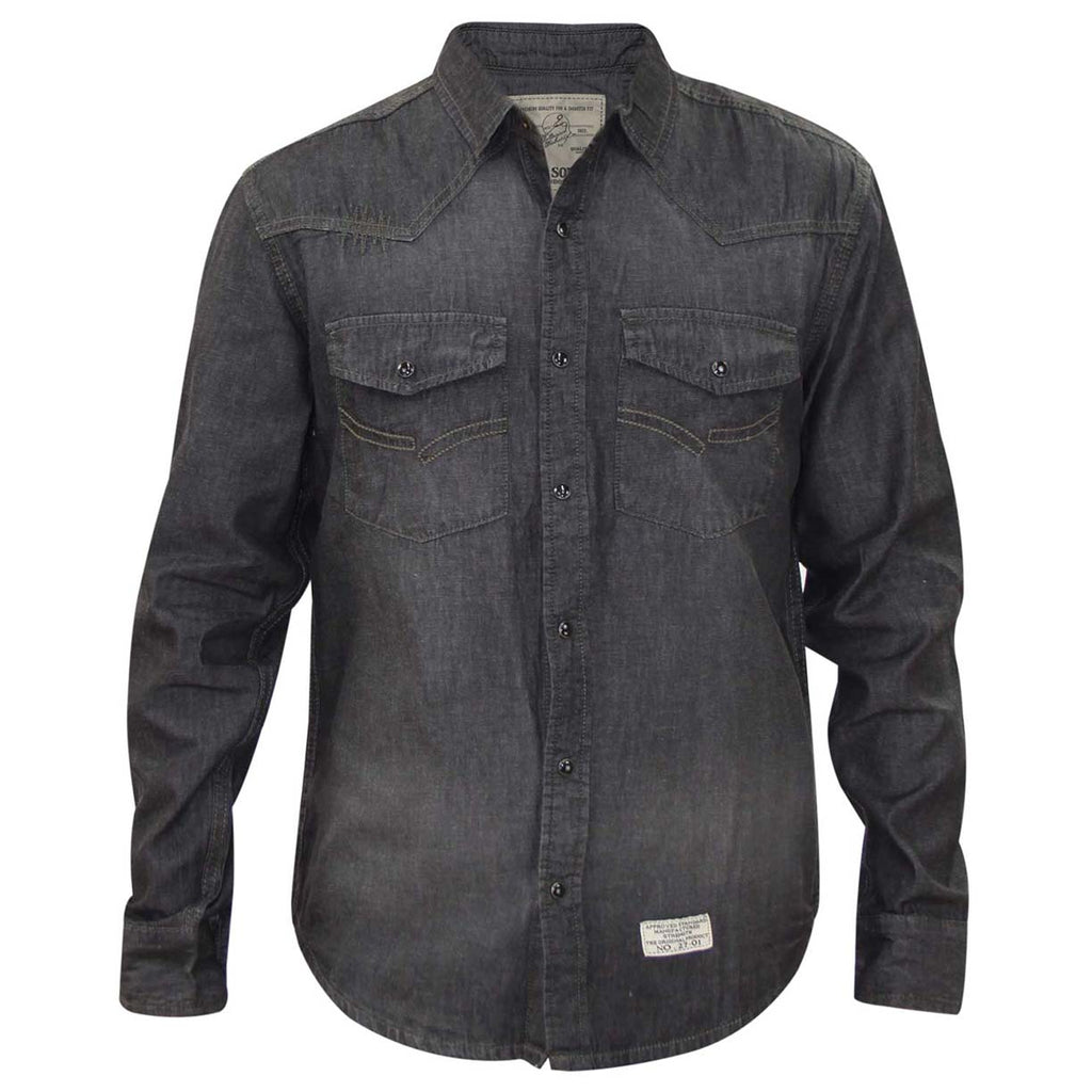 Jack South Shirt Juan Black