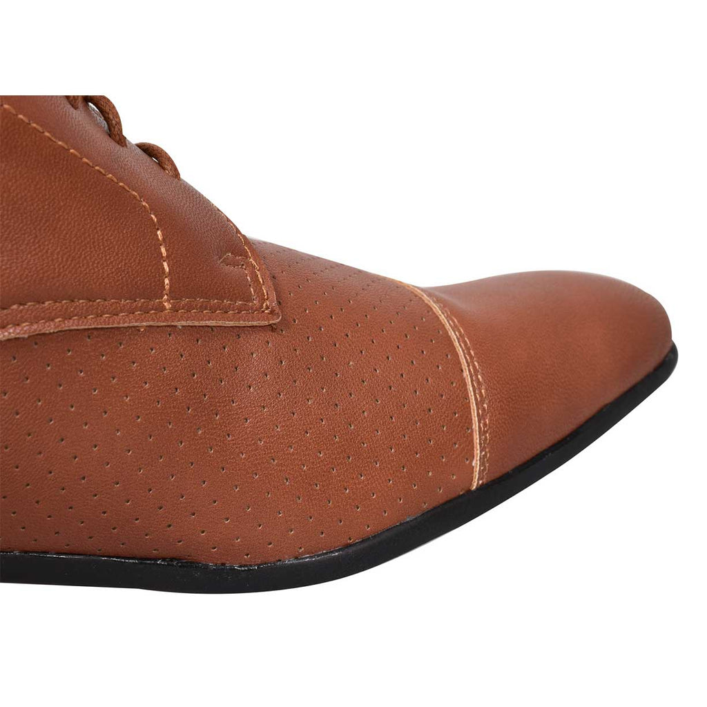 Loyalty & Faith Alex Derby Shoes Tan