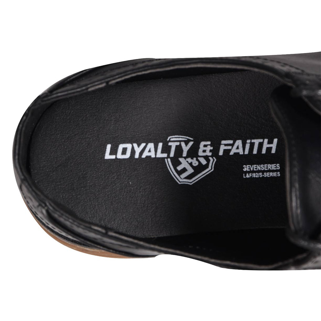 Loyalty & Faith Peter Derby Shoes Black