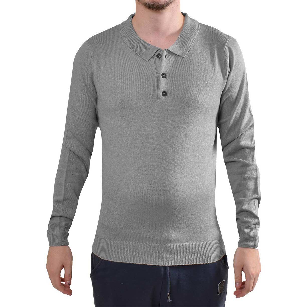 Loyalty & Faith Harry Fred Jumper Grey