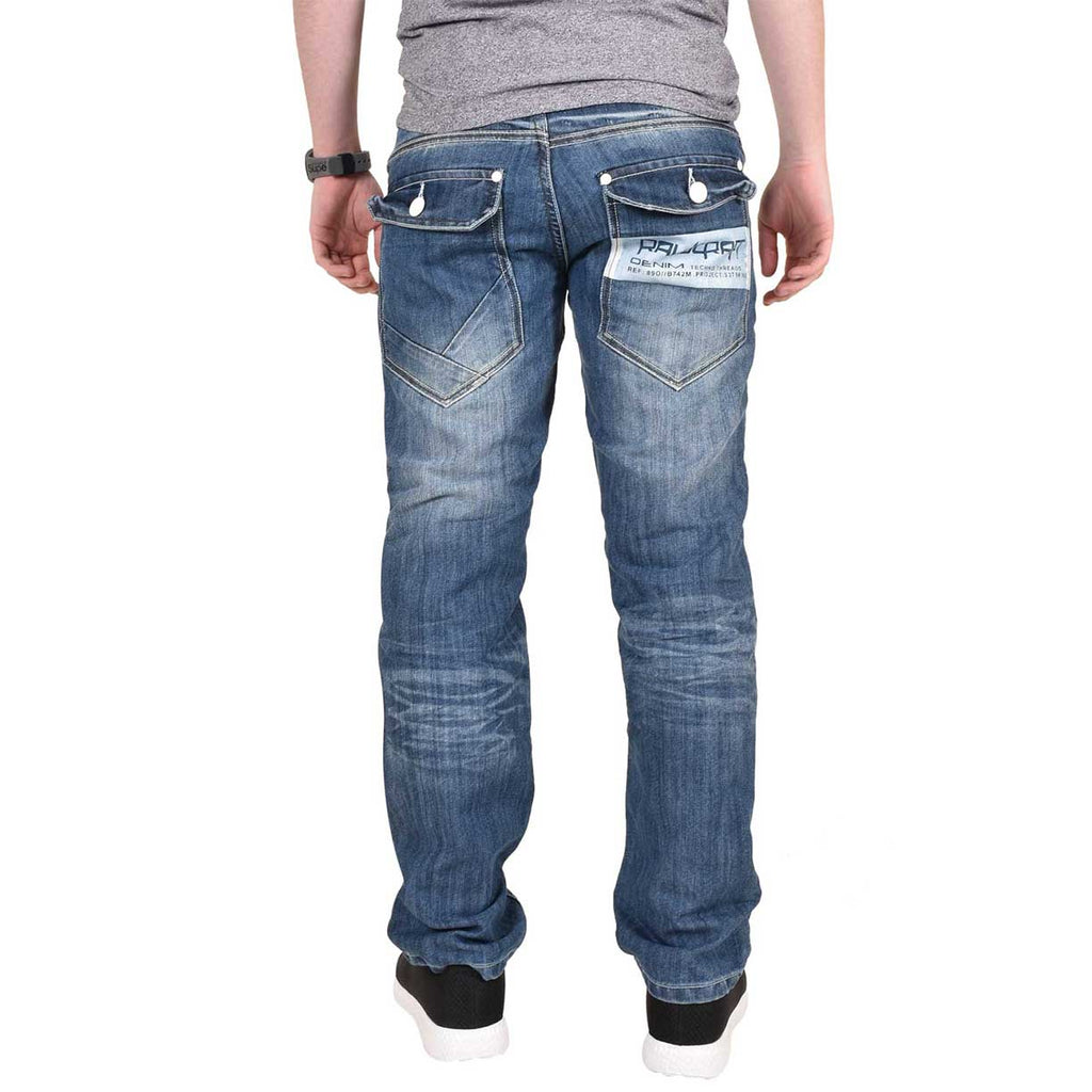 Rawcraft Jeans Bexley Mid Wash
