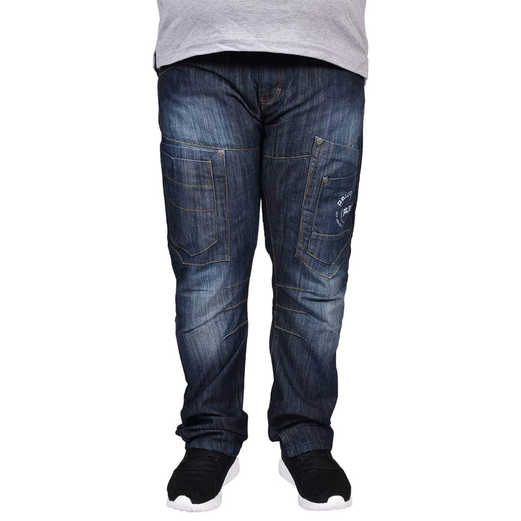 Rawcraft Big Size Chinook Jeans Dark Wash