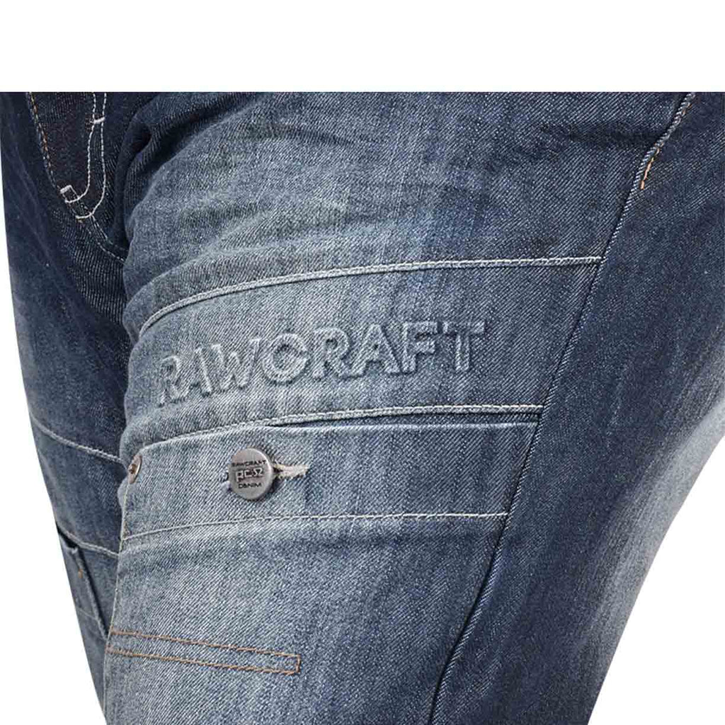 Rawcraft Big Size Kastra Jeans Dark Wash