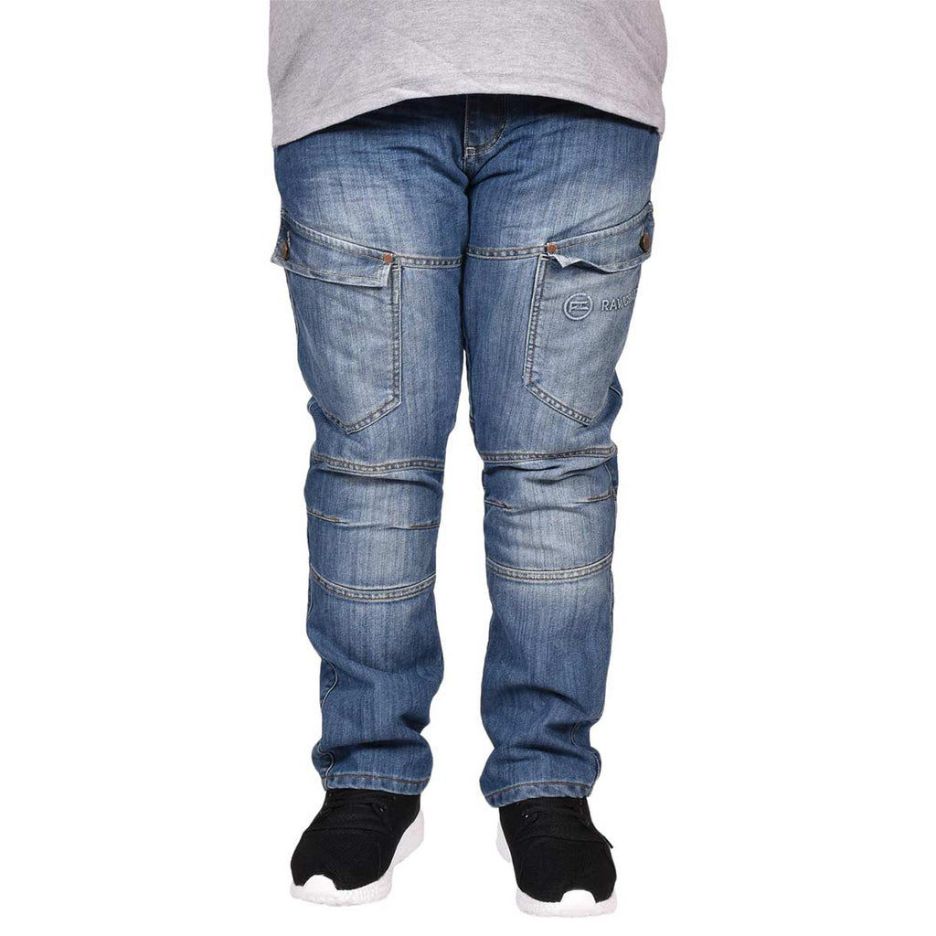 Rawcraft Big Size Raptor Jeans Dark Wash