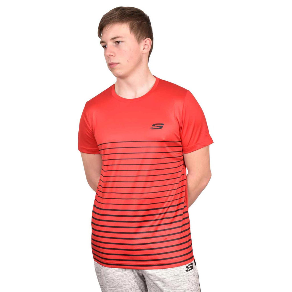 Skechers T Shirt Frant Red