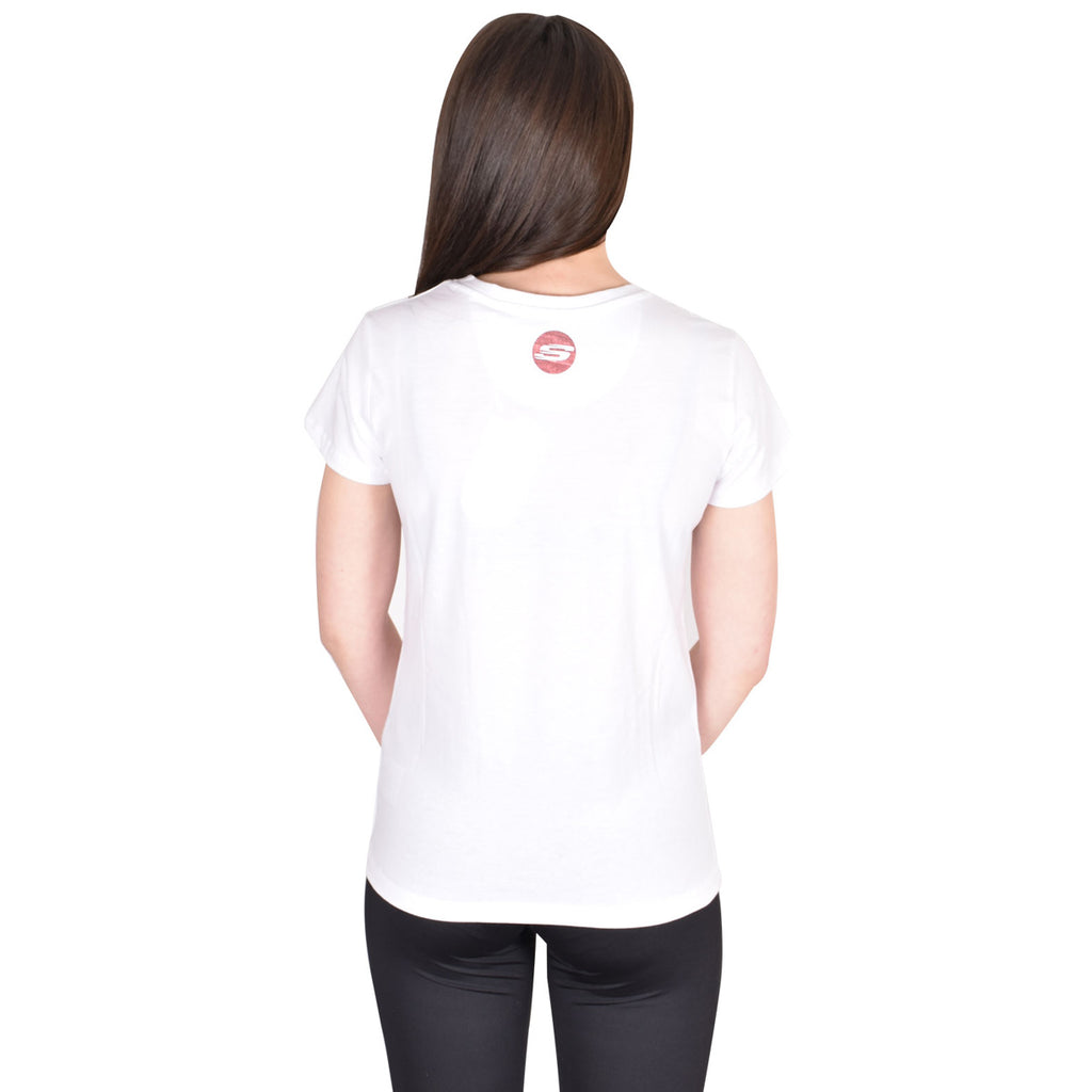 Skechers T Shirt Amalia White