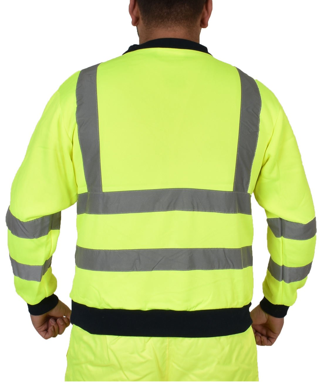 Hi Vis Visibility Fleece Sweatshirt 37-Sweat