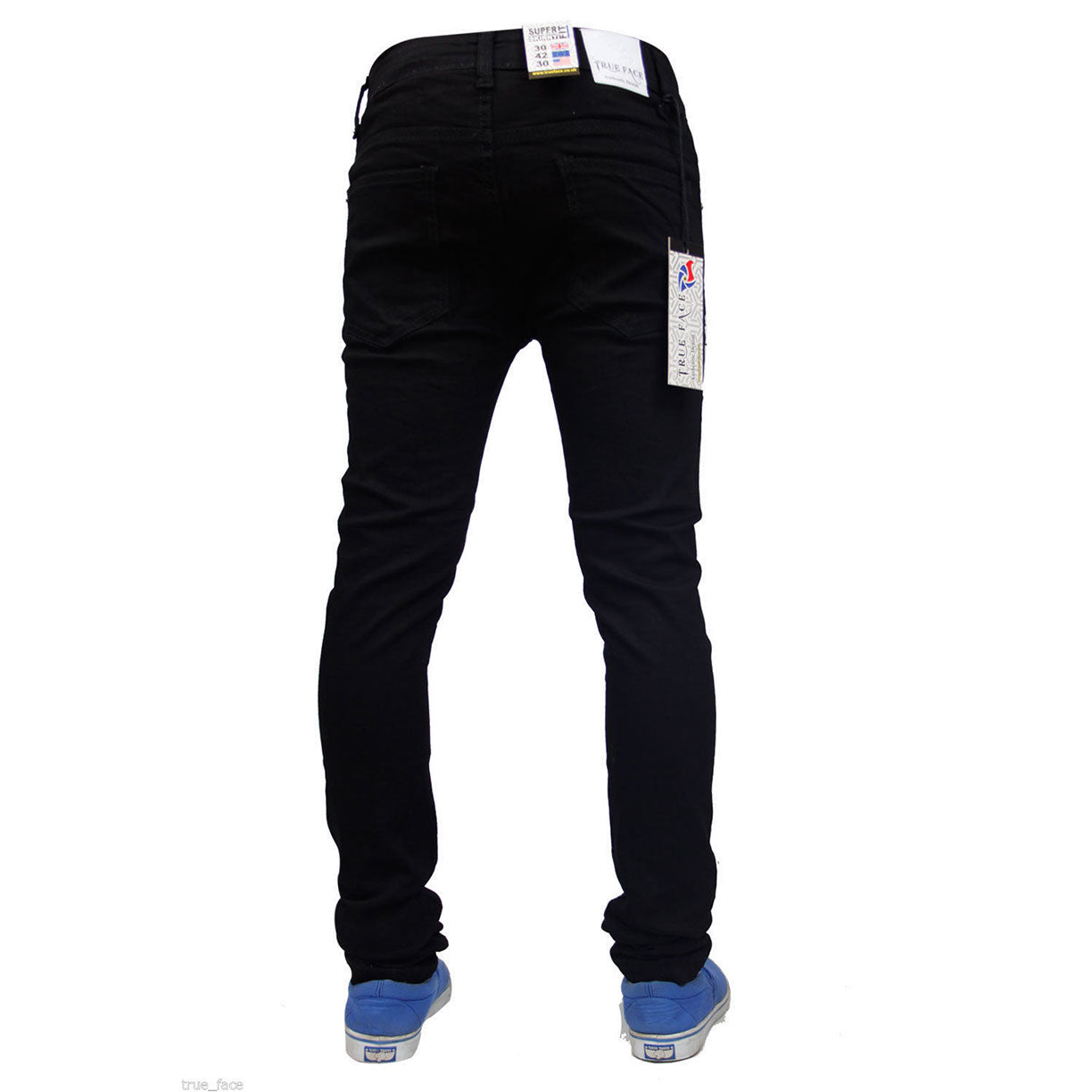 True Face Skinny Jeans TF021 Black