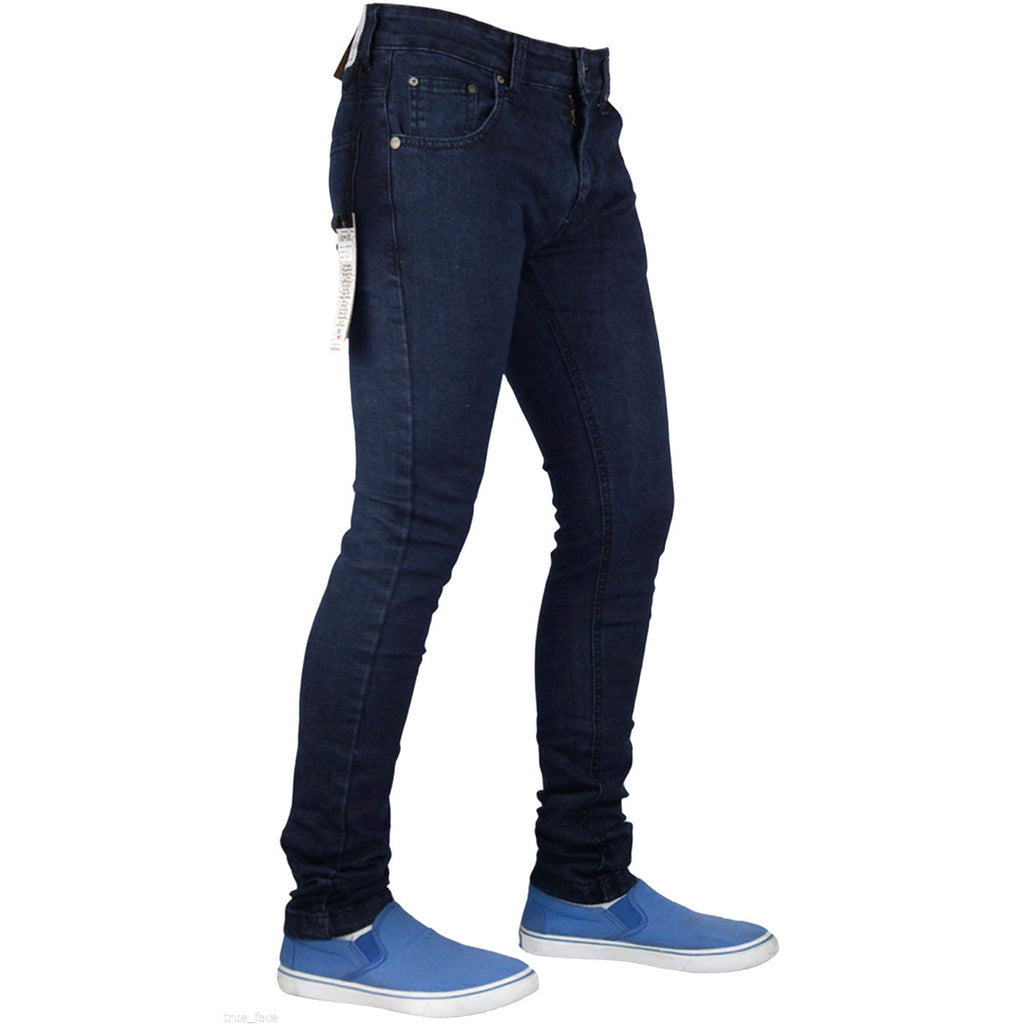 True Face Skinny Jeans TF021 Dark Blue