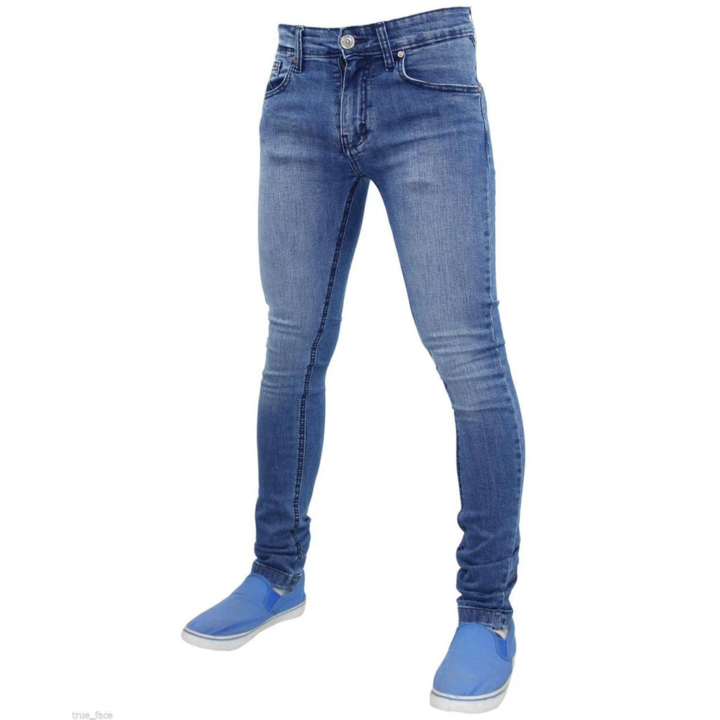 True Face Skinny Jeans TF021 Light Blue