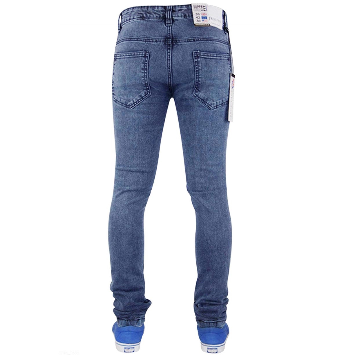 True Face Skinny Jeans TF021 Blue