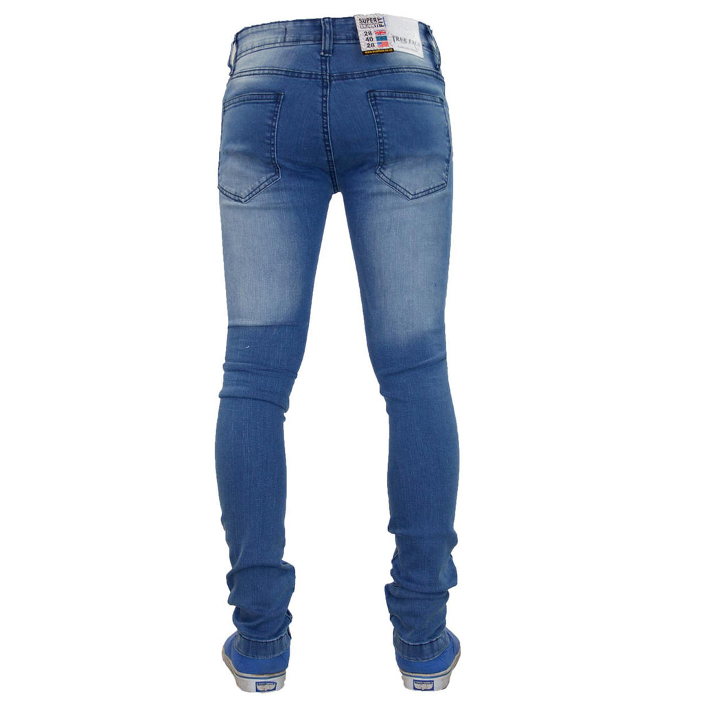True Face Ripped Jeans TRF042 Stone Wash