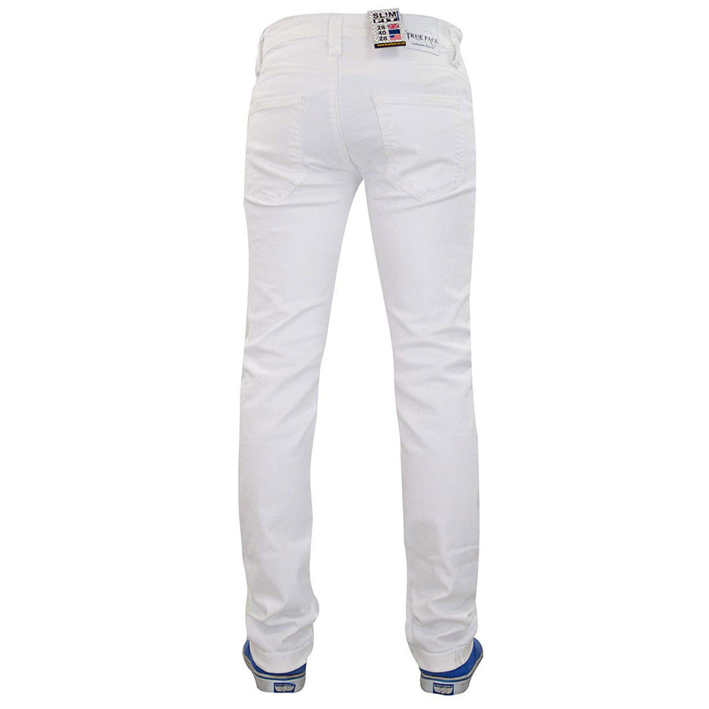 True Face Ripped Jeans TRF040 White