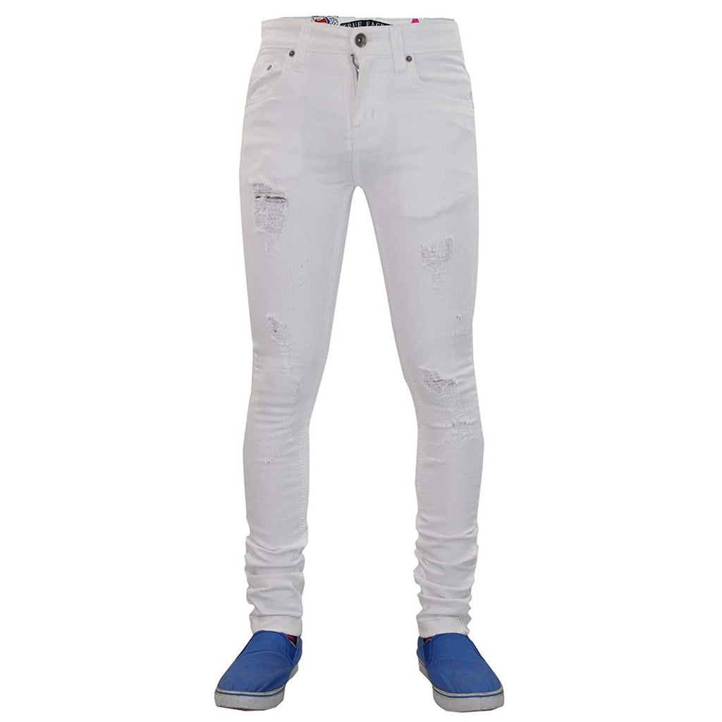 True Face Ripped Jeans TRF041 White