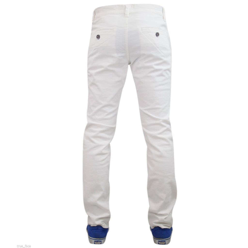 Jack South Boohoo Chinos White