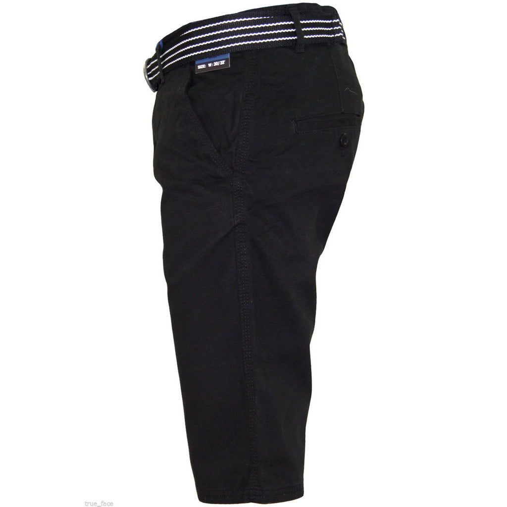 Kushiro City Ryan Shorts Zip Fly Black