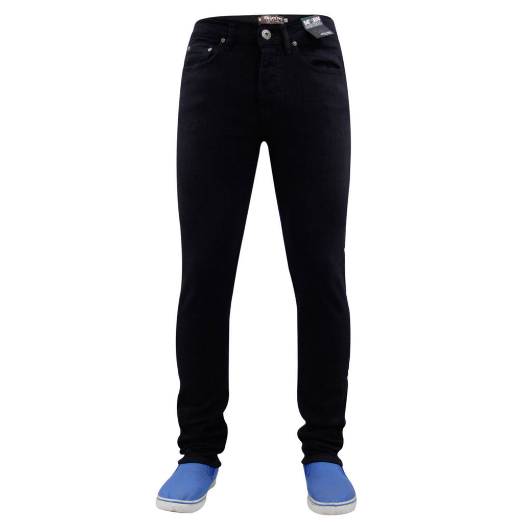 7 Series Beattie Skinny Jeans Black