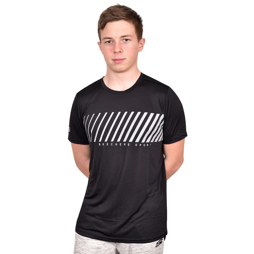 Skechers T Shirt Lars Black