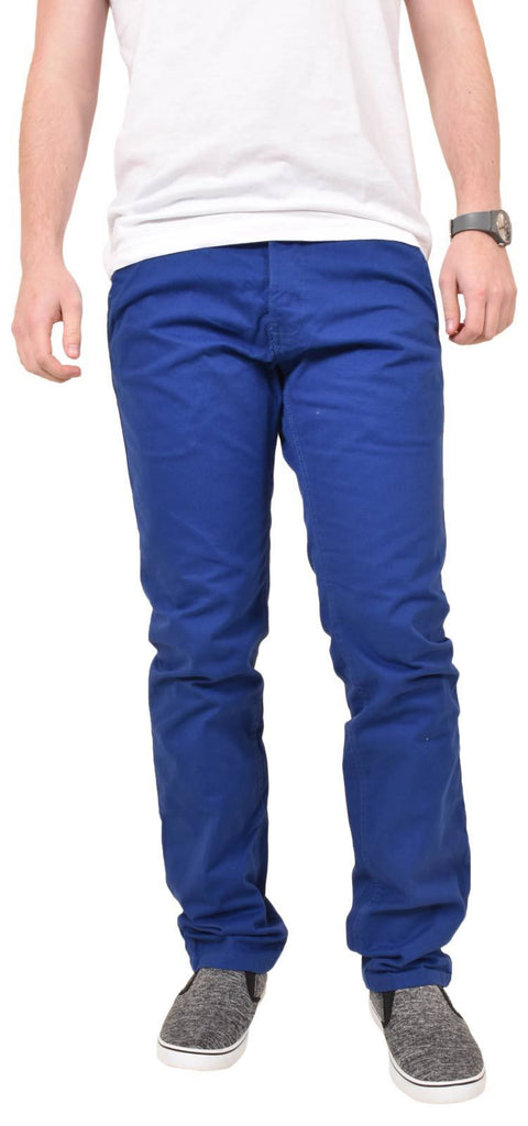 Kushiro City Angara Chinos Blue