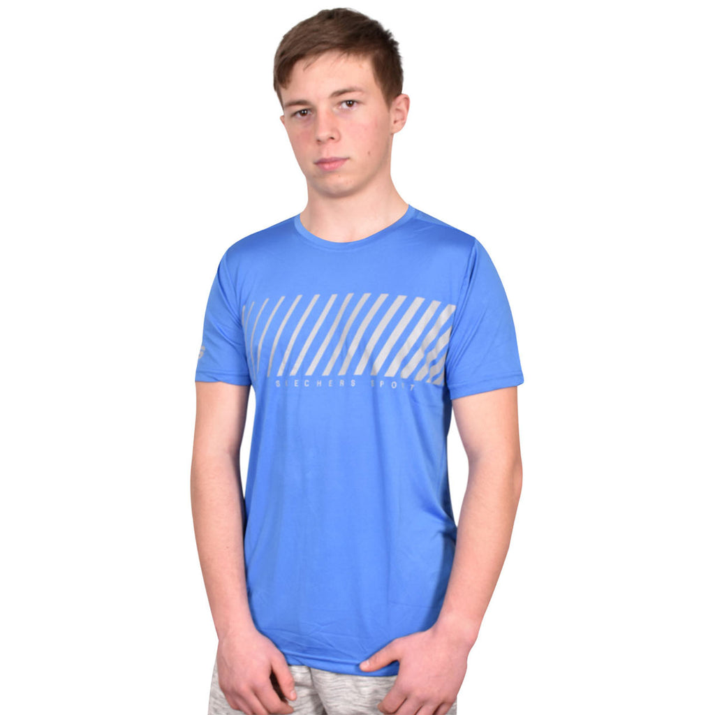 Skechers T Shirt Lars Blue