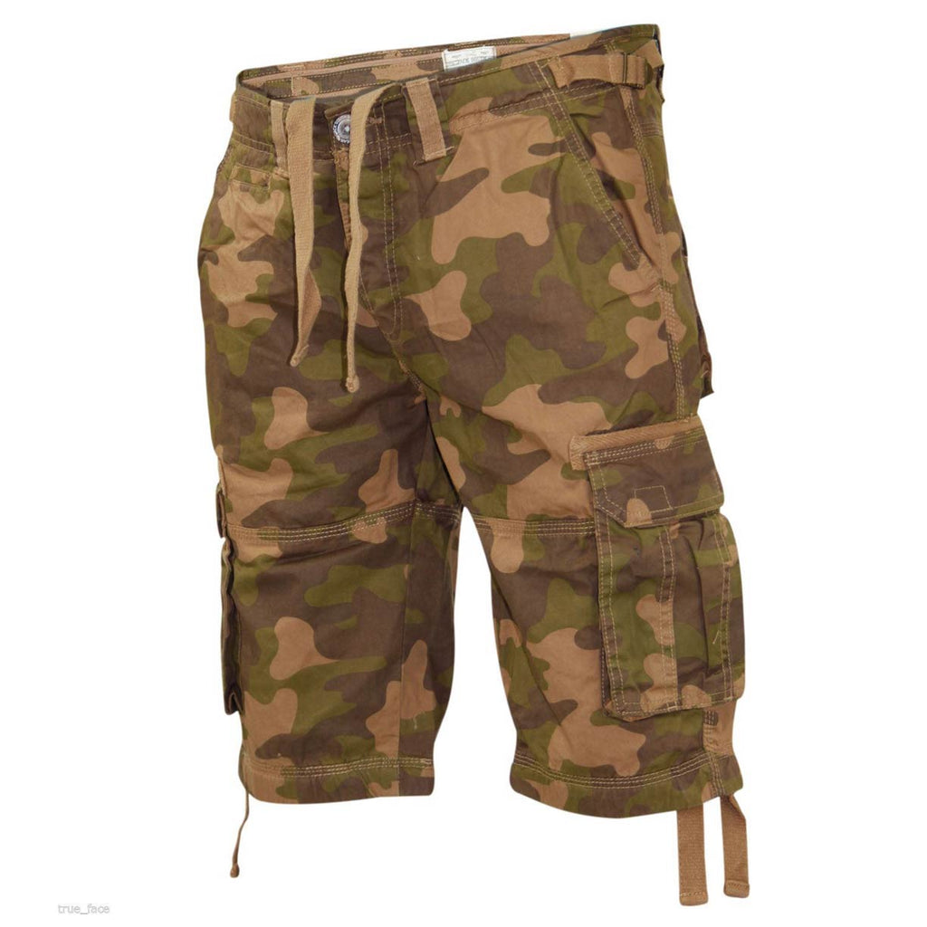 Jack South Men Shorts Camo
