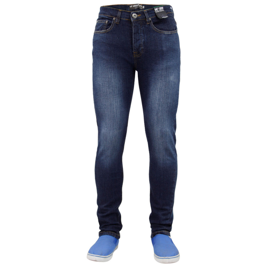 7 Series Beattie Skinny Jeans Dark Wash