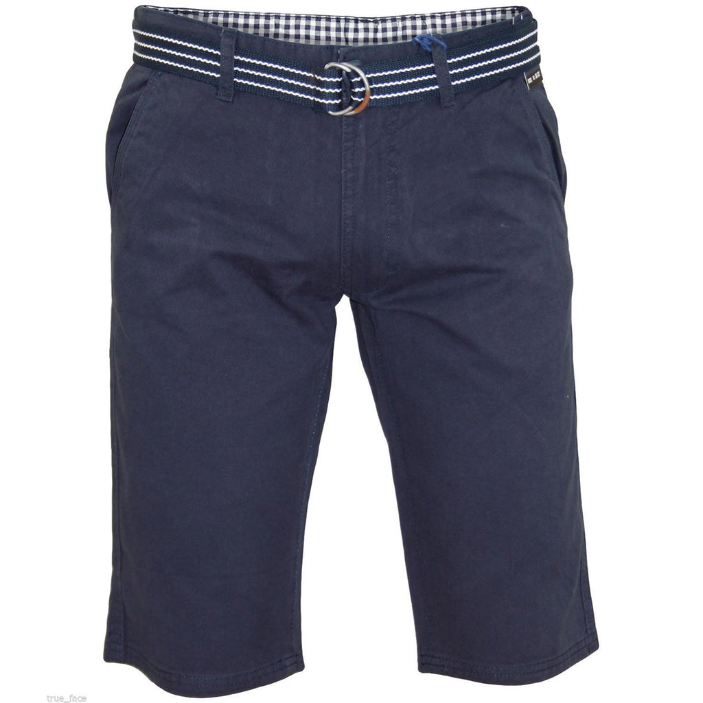 Kushiro City Ryan Shorts Zip Fly Navy