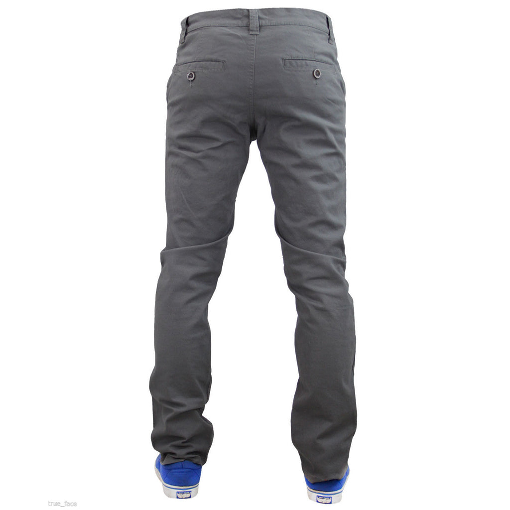 Jack South Boohoo Chinos Grey