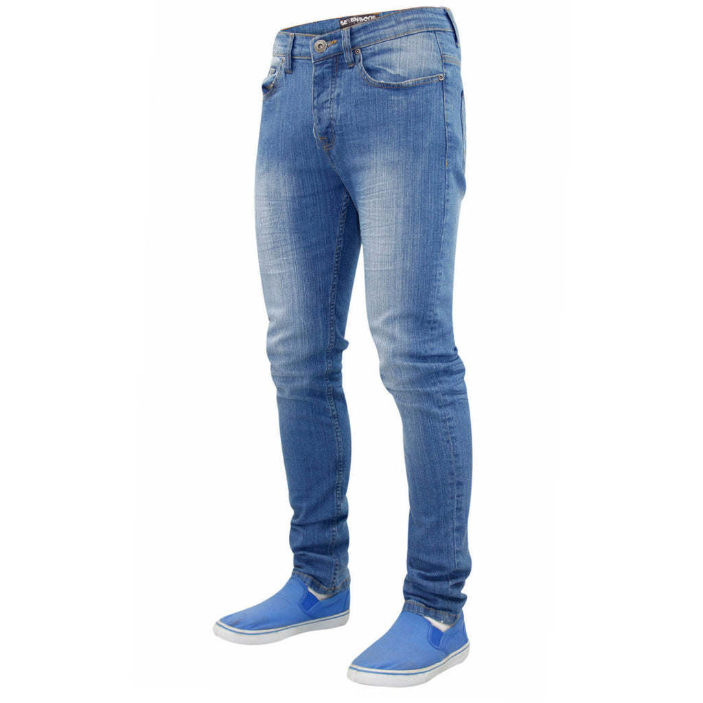 7 Series Beattie Skinny Jeans Mid Wash