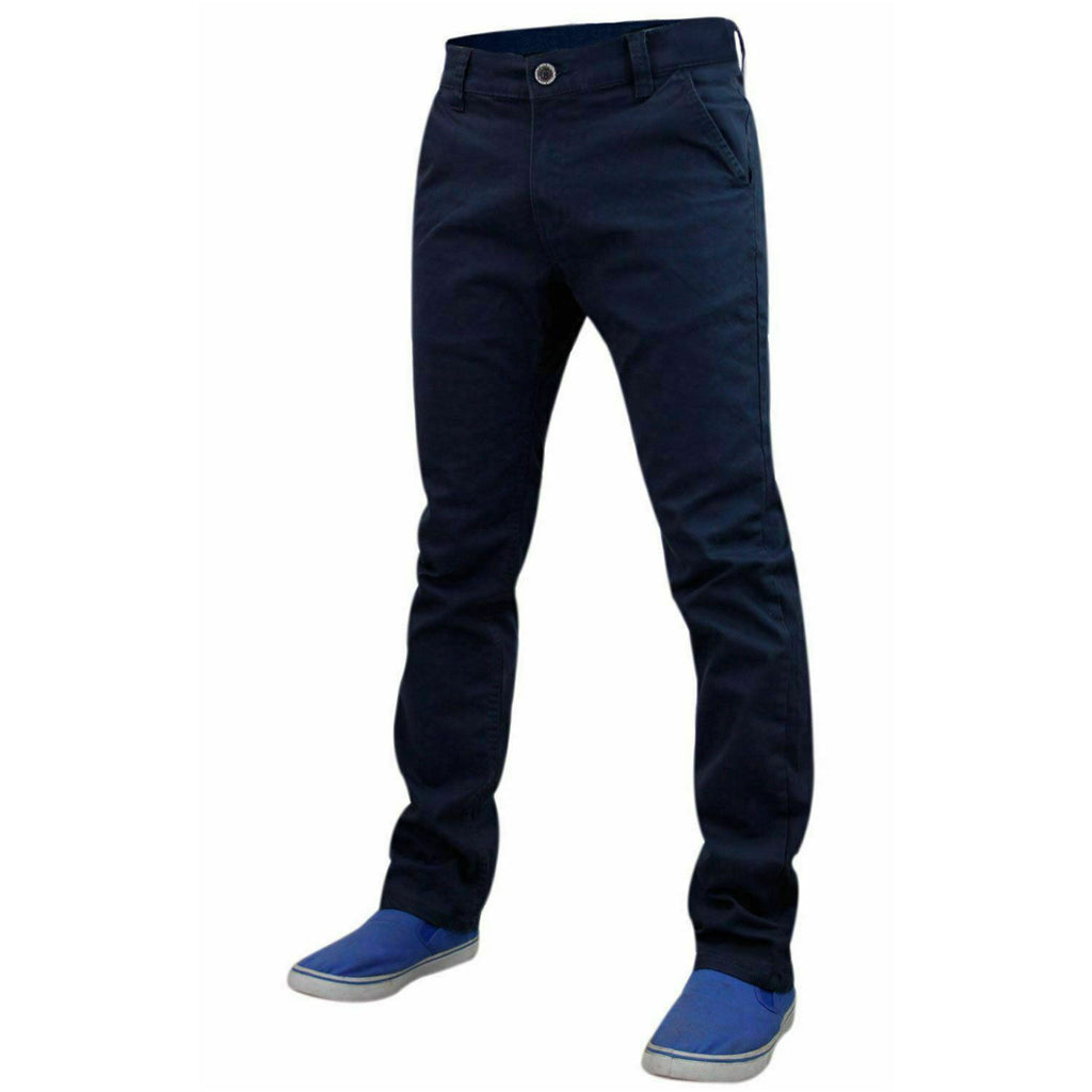 Jack South Boohoo Chinos Navy