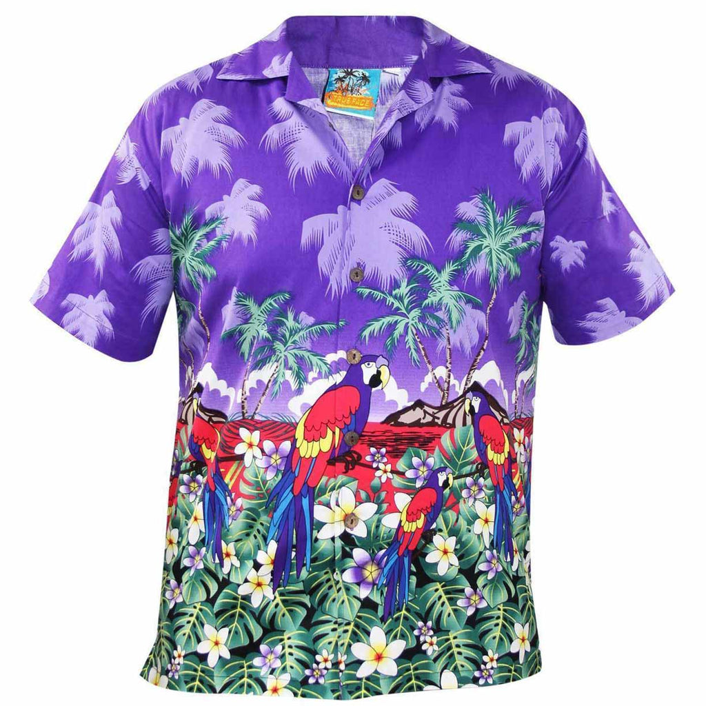 True Face Hawaiian Shirts