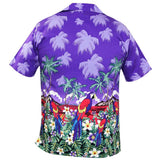True Face Hawaiian Shirts Purple
