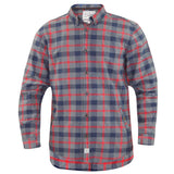 Jack South Mens Check Shirt Red