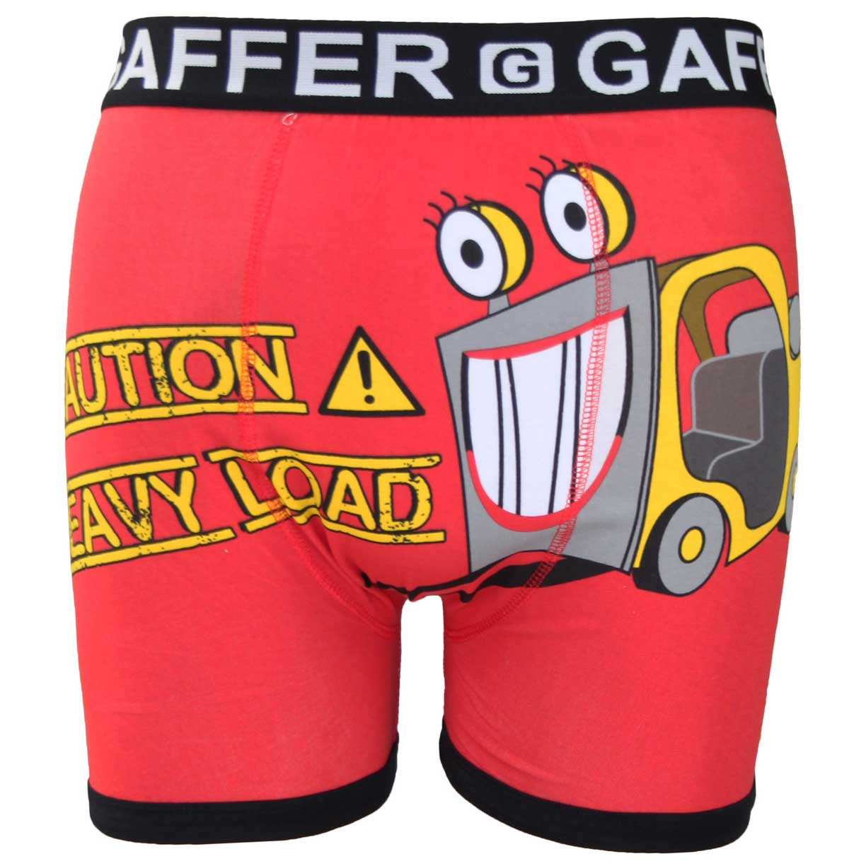 Gaffer Boxers Truck Red
