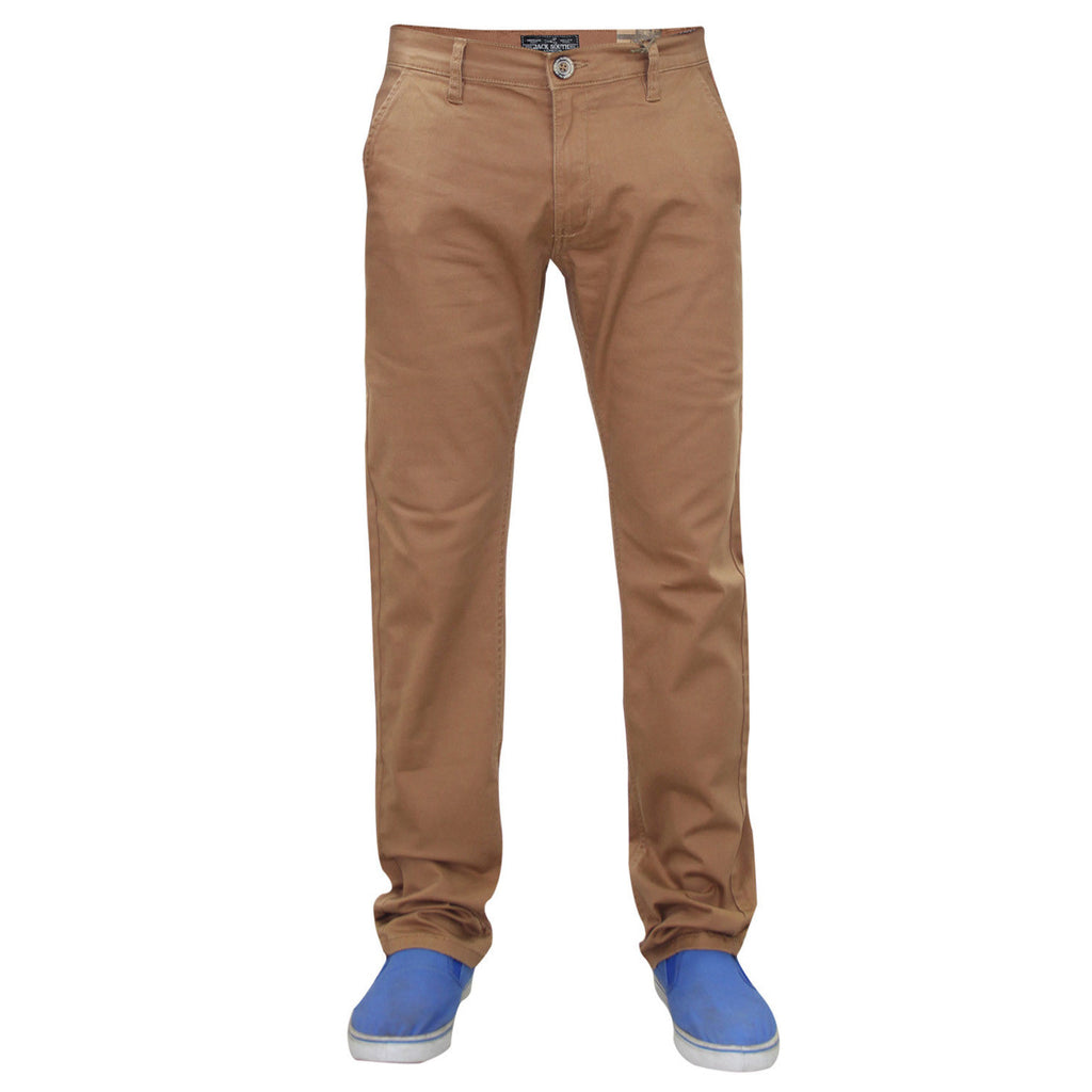 Jack South Boohoo Chinos Brown