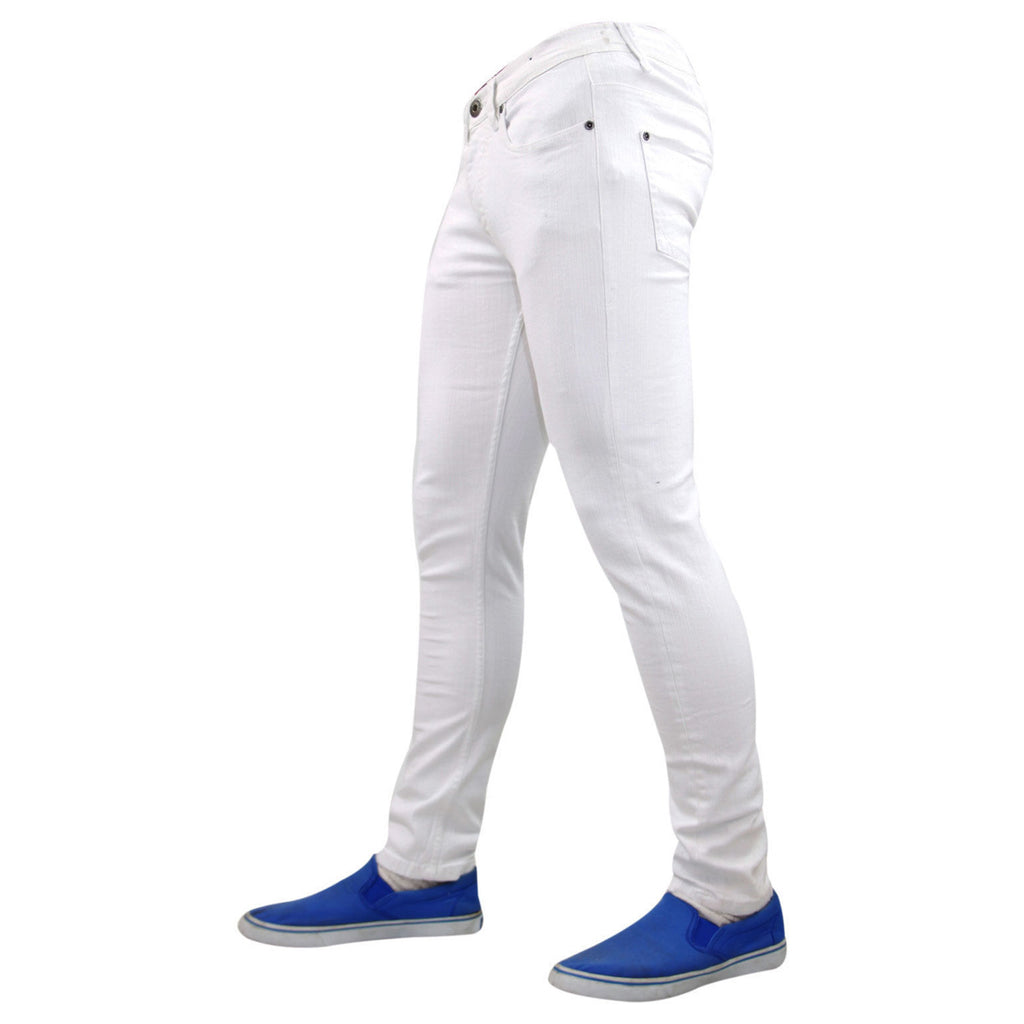 7 Series Beattie Skinny Jeans White