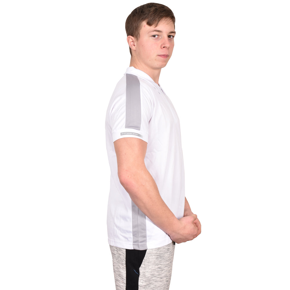 Skechers T Shirt Lucas White