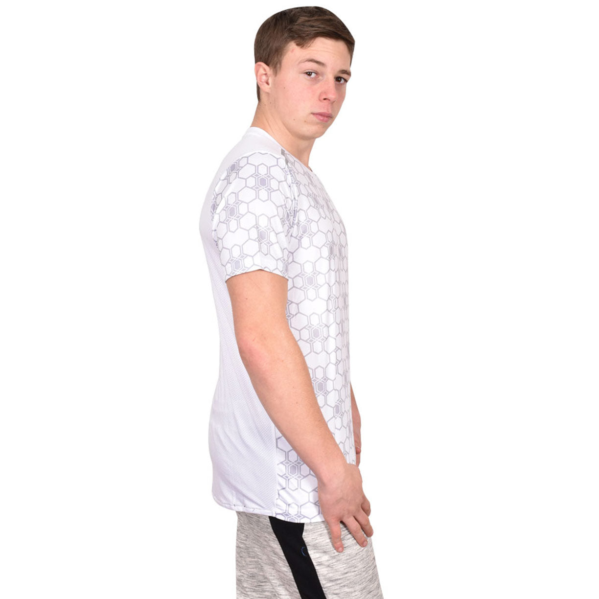 Skechers T Shirt Louis White