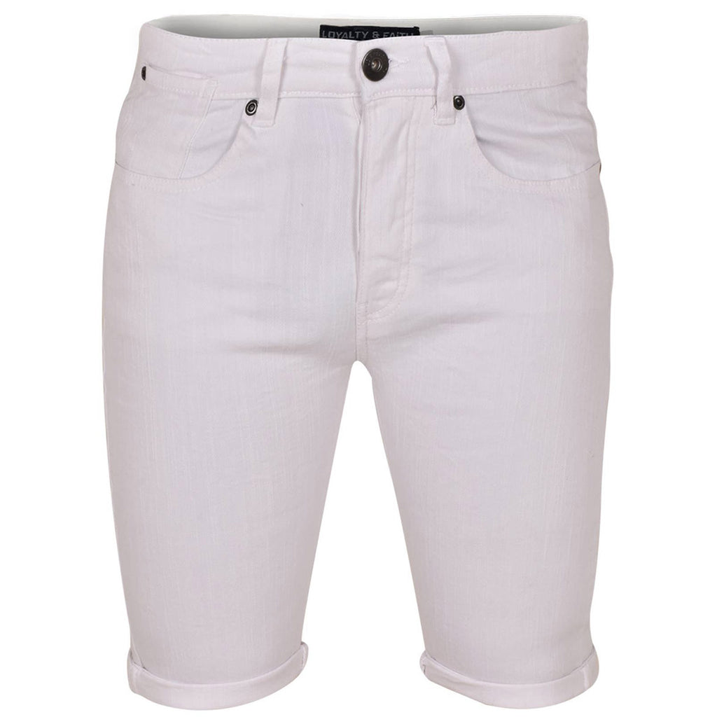 Loyalty & Faith Mens Slim Fit Stretch Shorts