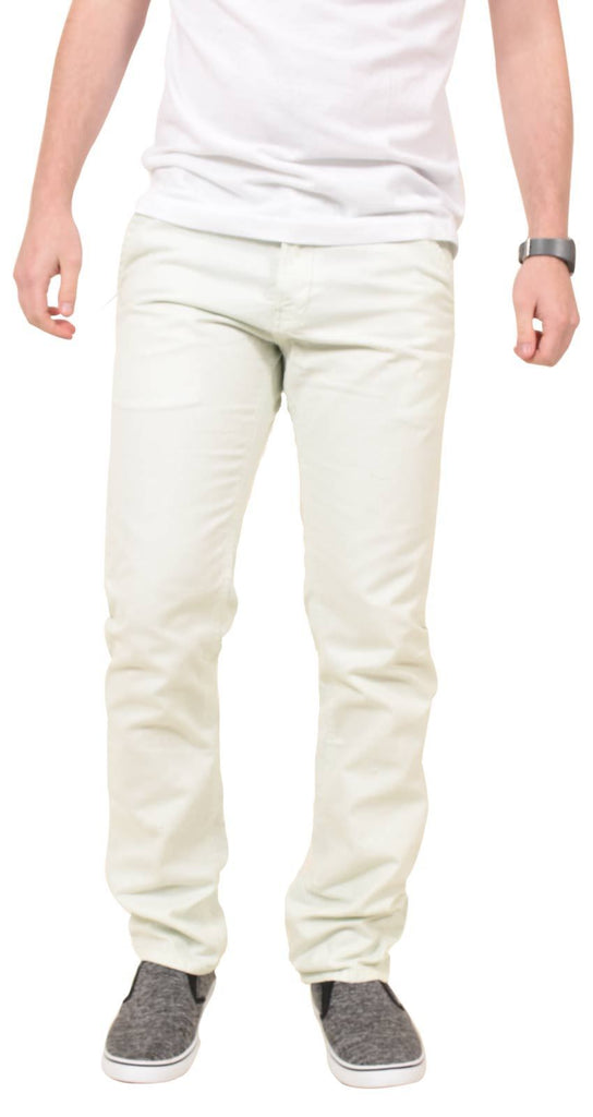 Kushiro City Angara Chinos White