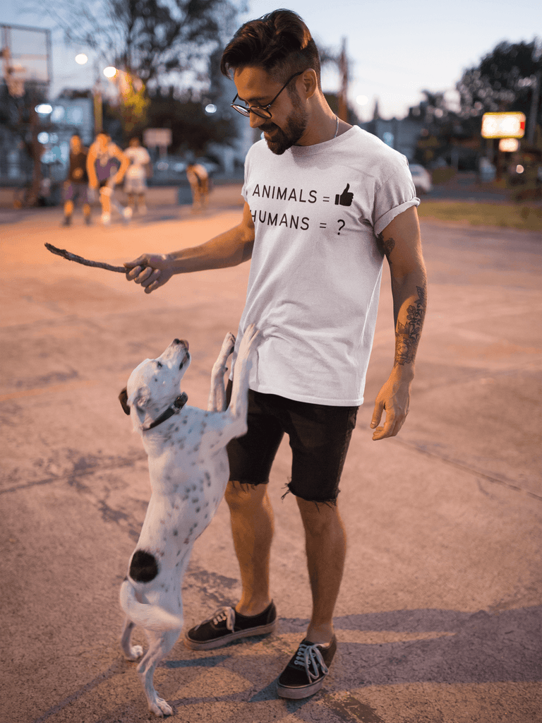 """Animals Thumbs Up"" Vegan T-Shirt"