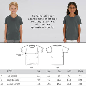 """Bee Kind"" Children's Vegan T-Shirt (Unisex) Clothing Vegan Original"