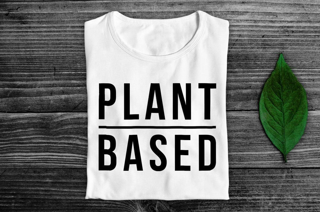 """Plant Based"" Vegan T-Shirt - 100% Organic Cotton (Unisex) Clothing Vegan Original"
