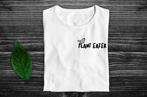 """Plant Eater"" Vegan T-Shirt - 100% Organic Cotton (Unisex) Clothing Vegan Original"