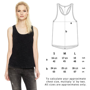 """Vegan Warrior"" Women's Racerback Vest Clothing Vegan Original"