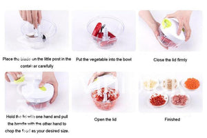 EASY MANUAL FOOD CUTTER/SLICER