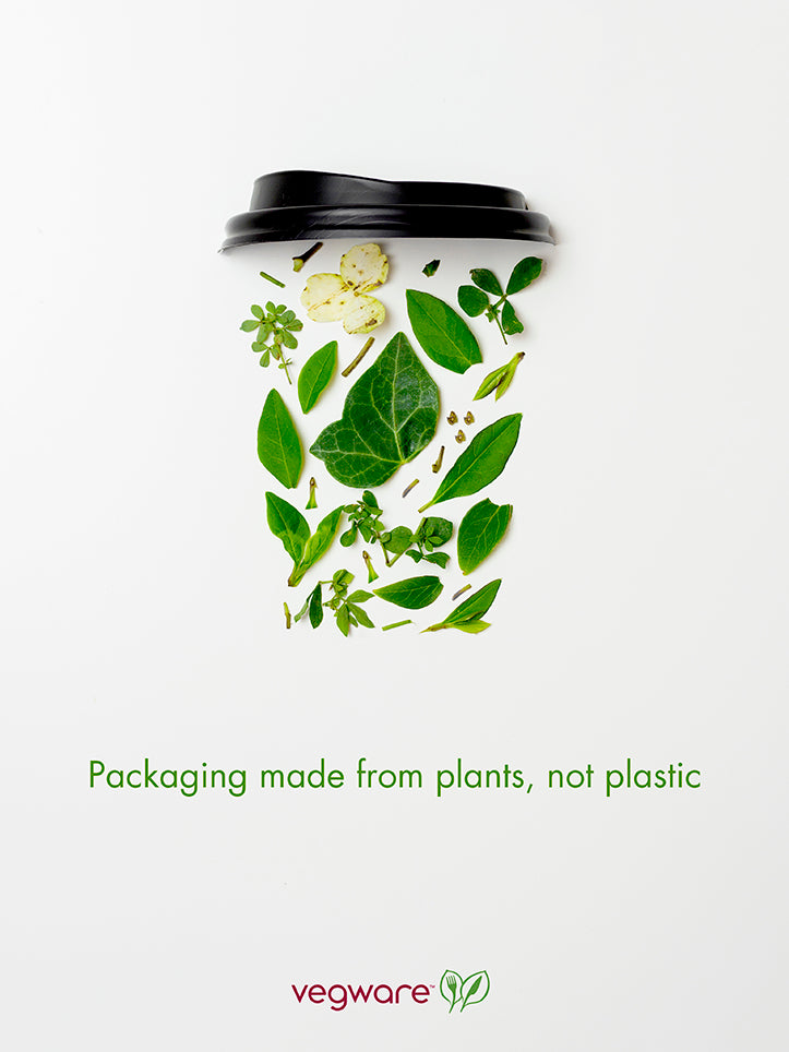 Packaging made from plants